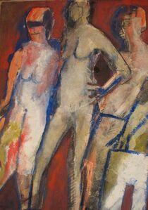 Eric Cadien, 'Three Figures', 1980