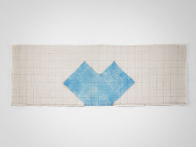 Richard Tuttle, 'Perceived Obstacle No. 72 (Oil Painting #1)', 1991