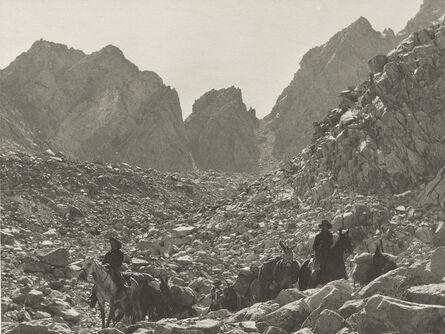 Ansel Adams, 'Down Bishop Pass, Sierra Nevada, California', 1930