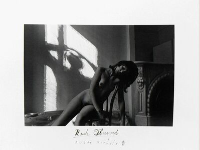 Duane Michals, 'NUDE OBSERVED', 1968