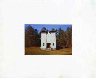 William Christenberry, 'Church, Sprott, Alabama, 1971', 1981