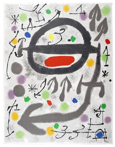 Joan Miró, 'Les Perseides: Plate III', 1970
