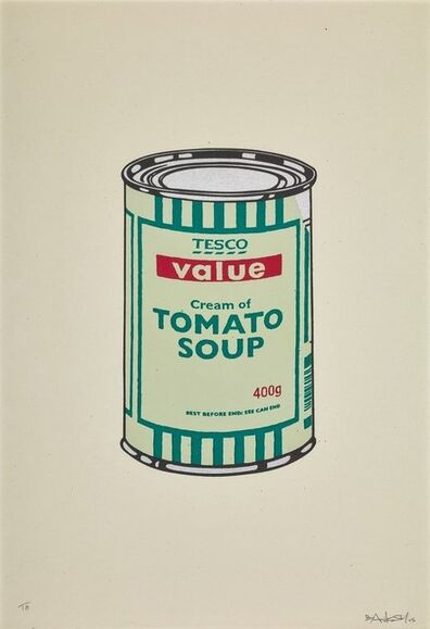 Banksy, 'Soup Can (Mint / Emerald)', 2005