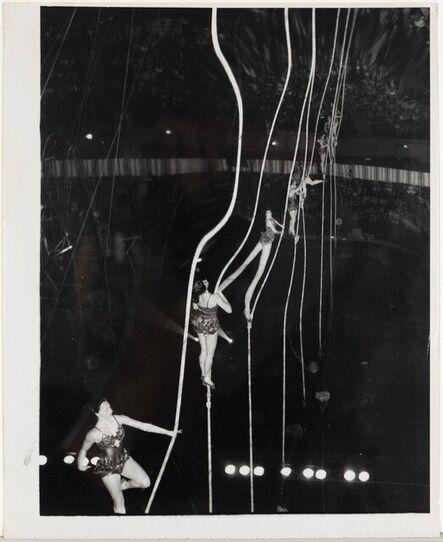 Weegee, 'Tightrope Ladies', 1950