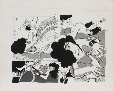 Keiichi Tanaami, 'Wonder Woman_04', 1967