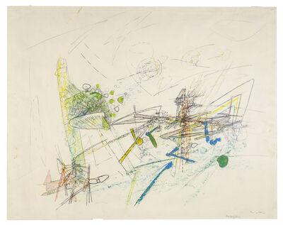 Roberto Matta, 'Cruxificion ', 1950's