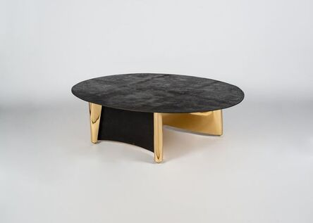 Aline Hazarian, 'Anahit, Contemporary Oval Coffee Table', 2017