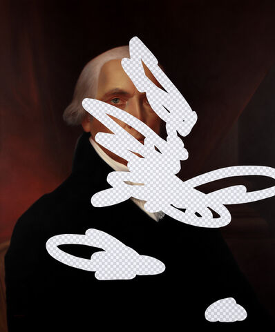 Shawn Huckins, 'Moderation On One Side, Prudence On The Other (James Madison, Erasure No. 9)', 2018