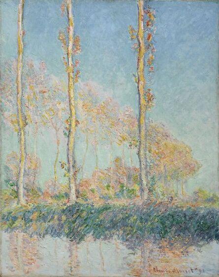 Claude Monet, 'Poplars', 1891