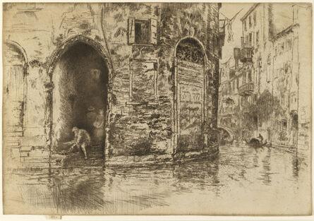 James Abbott McNeill Whistler, 'The Two Doorways', 1879-1880