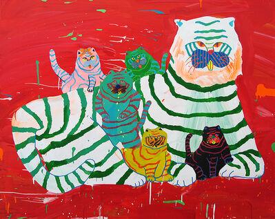 Misaki Kawai, 'Tiger Family ', 2008