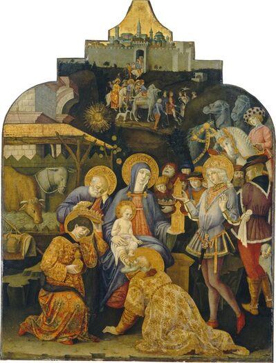 Benvenuto di Giovanni, 'The Adoration of the Magi', ca. 1470/1475