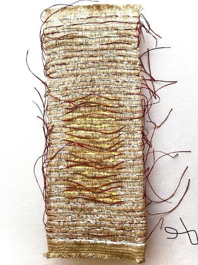 Olga de Amaral, 'Lienzo Ceremonial - Estudio 7 [Ceremonial Canvas - Study 7]', 1987