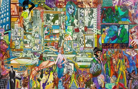 "Marc Ferrero, '""New York Art Jungle""', 2019"
