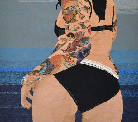 Erin M. Riley, 'Curves 2', 2017