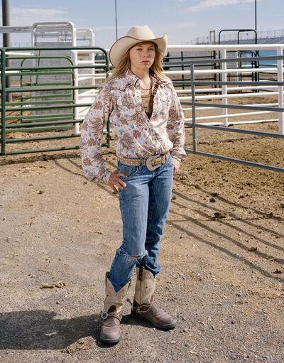 Doug Hall, 'Junior Rodeo Cowgirl', 2008