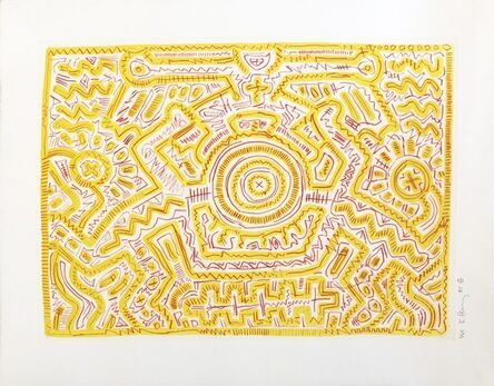 Keith Haring, 'Untitled ', 1985