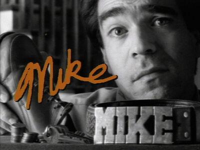 Michael Smith (American, b. 1951), 'Mike', 1987