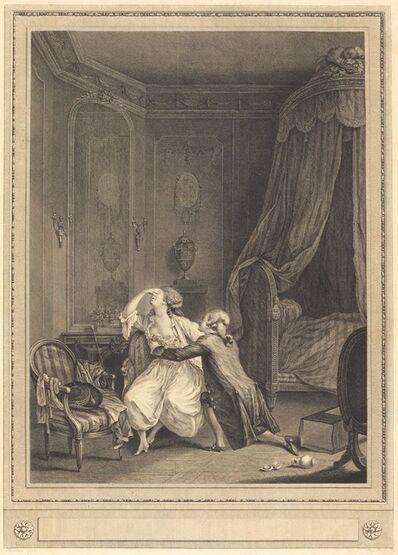 Gerard Rene Le Vilain after Nicolas Lavreince, 'Le repentir tardif'
