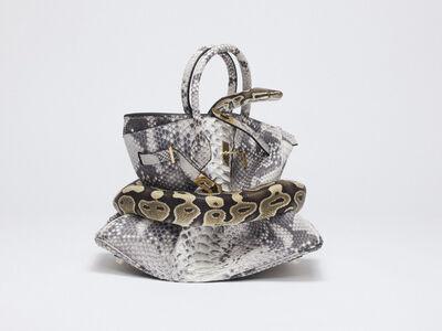 Tyler Shields, 'Python Birkin', ca. 2016