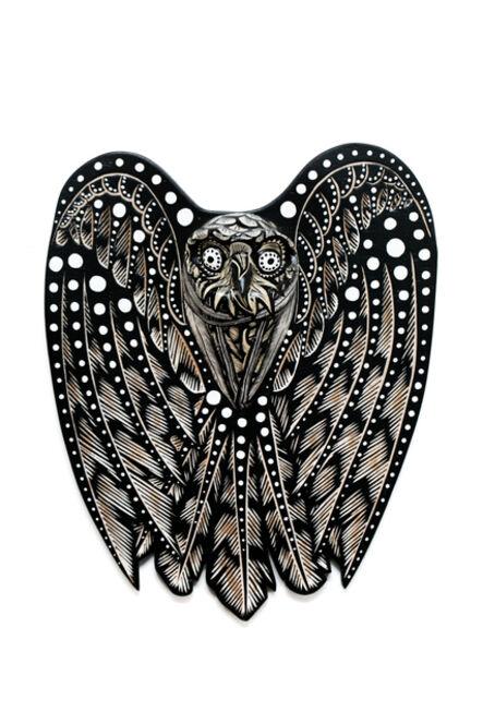 Dennis McNett, 'Owl Spirit V', 2018