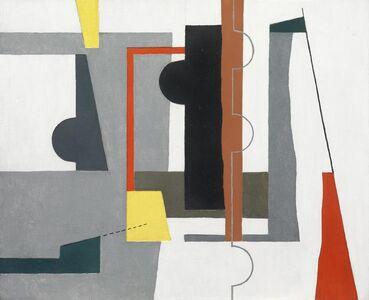 John Piper, 'Forms on White Ground', 1935