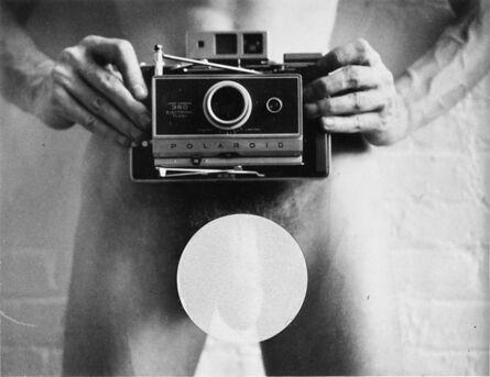 Robert Mapplethorpe, 'Self-portrait', 1973