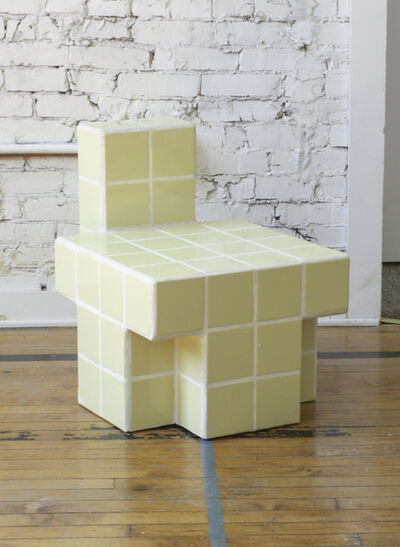 Carl Durkow, 'Yellow Tiled Chair', 2019