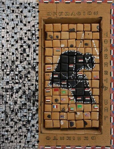 Miguel Angel Ríos, 'Souvenir Series: Tormenta del Desierto', 1992