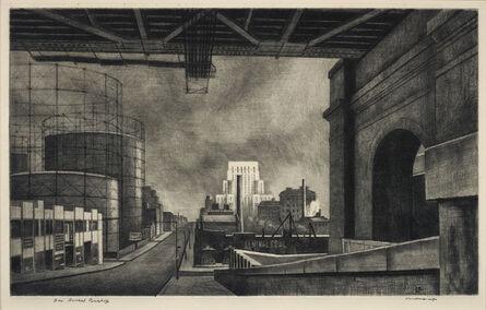 Armin Landeck, 'York Avenue, Sunday Morning', 1939