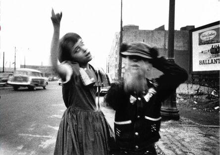 William Klein, 'Dance in Brooklyn, New York', 1955