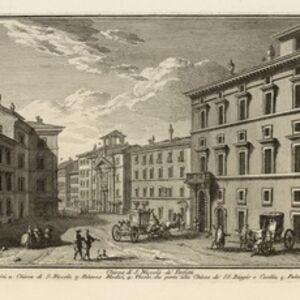 Giuseppe Vasi, 'Chiesa di S. Niccol• de' Perfetti', 1747