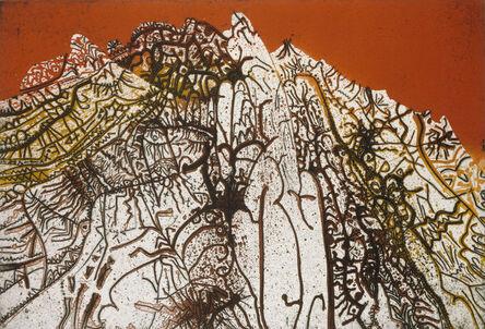 Mario Prassinos, 'Red Alpilles', 1978
