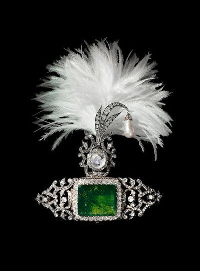 The Al Thani Collection, 'Turban ornament, India. ', ca. ca. 1900 (Clip by Cartier-Paris 2012)