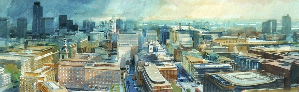 Alexander Creswell, 'London City Skyline II', c.1994