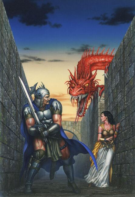 Ciruelo Cabral, 'Dragon's Maze', 1997
