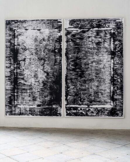 Adriaan Verwée, 'Handgeschöpft (Diptiek)', 2016