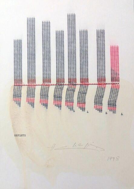 Henri Chopin, 'Reflets', 1978