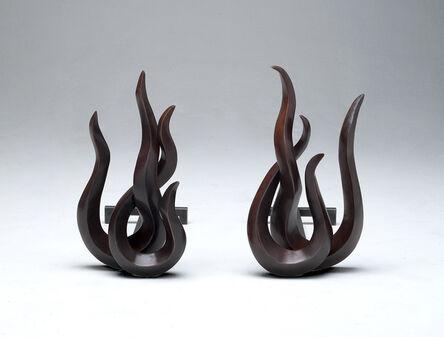 Mattia Bonetti, 'Firedogs 'Flames Japan'', 2012
