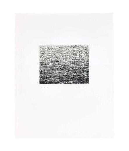 Vija Celmins, 'Ocean Surface (Second State)', 1985