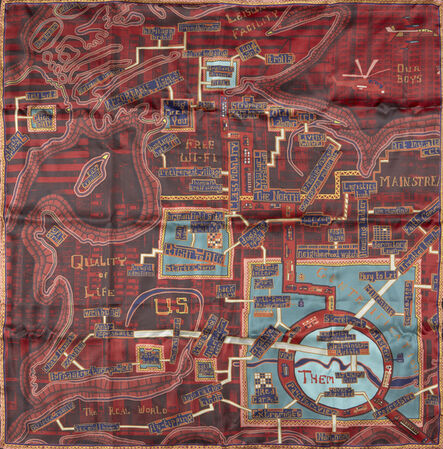 Grayson Perry, 'Red Carpet Scarf', 2017