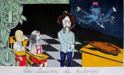 Sandra Ramos, 'La Leccion de historia', 1996