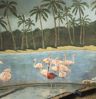 Eric Pillot, 'Flamingo and Palm Trees', 2013