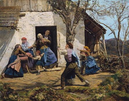 Ferdinand Georg Waldmüller, 'The Convalescent', 1864