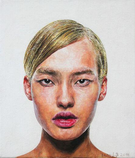 Ulrich Lamsfuss, 'Jürgen Ostarhild, Avatars 1_blond', 2015