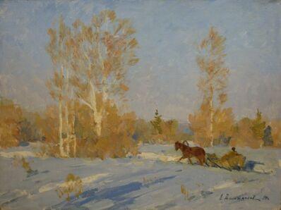 Aleksandr Timofeevich Danilichev, 'Early March', 1990