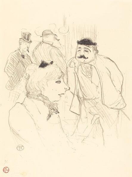Henri de Toulouse-Lautrec, 'La Tige (Moulin-Rouge)', 1894