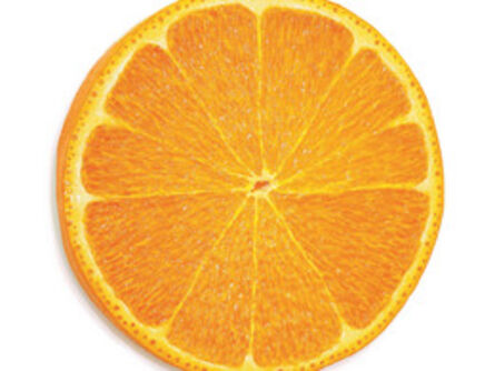 Peter Anton, 'Slice of orange', 2019