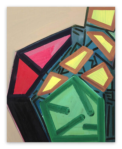Ashlynn Browning, 'Intersection (Abstract painting)', 2018