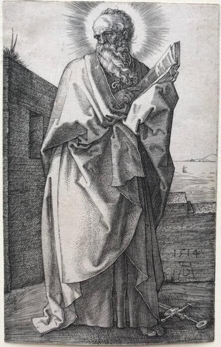 Albrecht Dürer, 'St Paul', 1514